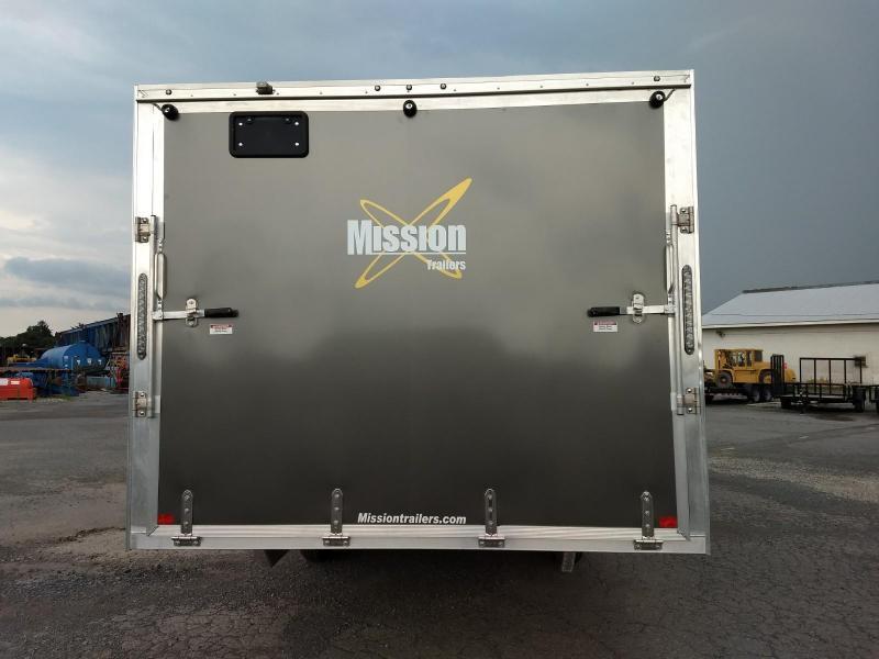 2019 Mission MES 101x22 DL Snowmobile Trailer
