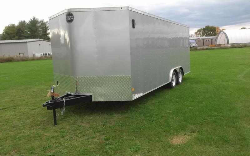 2018 Wells Cargo Fast Trac 8.5x20 7K Car Hauler in Ashburn, VA
