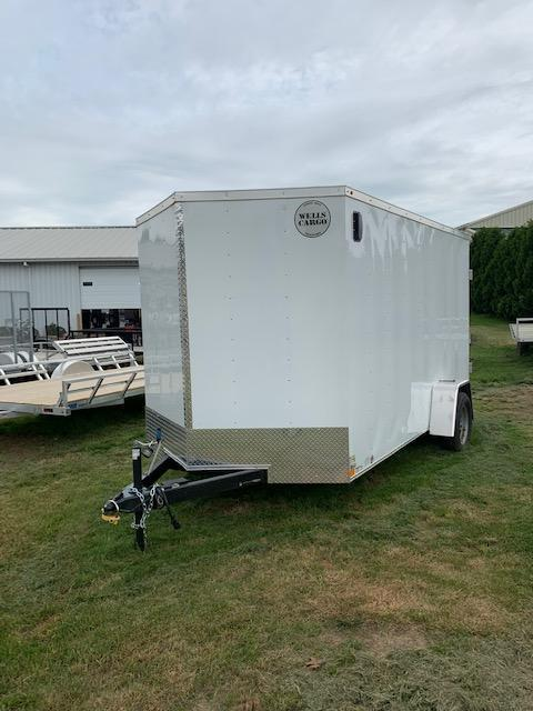 2019 Wells Cargo 300 Series 7x12 7K Enclosed Cargo Trailer