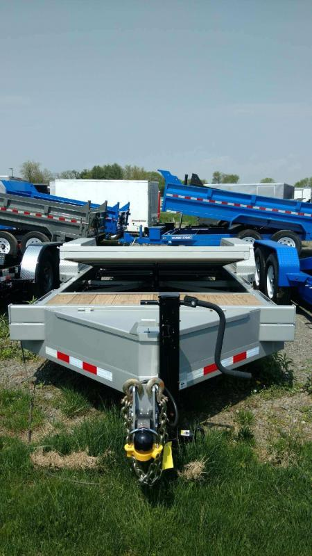 2018 Midsota 7x18+4 tilt deck Equipment Trailer