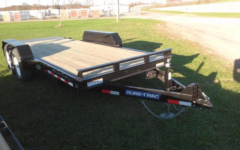2019 Sure-Trac 7x18 tilt deck equipment trailer