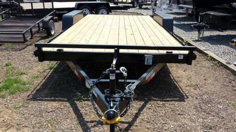 2019 Holmes 6-10x18 Wood Deck Car / Racing Trailer