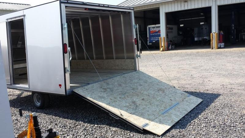 2018 Mission 101x12 Crossover Snowmobile Trailer