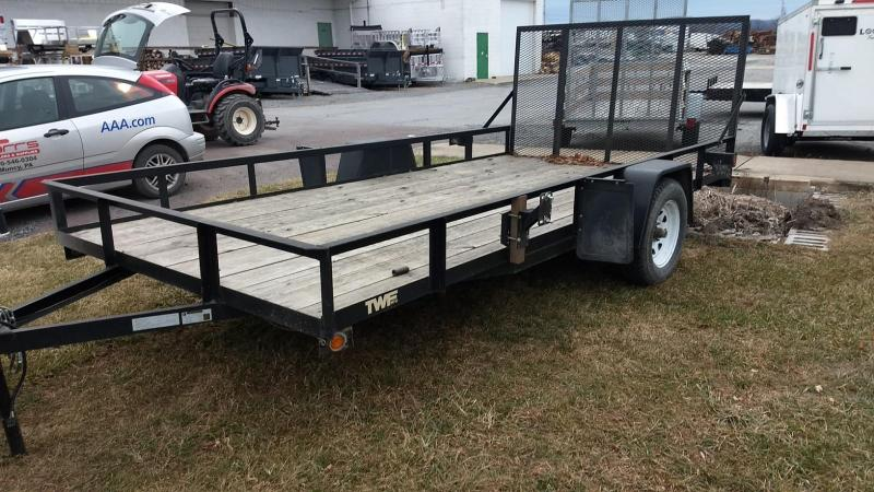 2015 TWF Mfg 6-9x14 Utility Trailer
