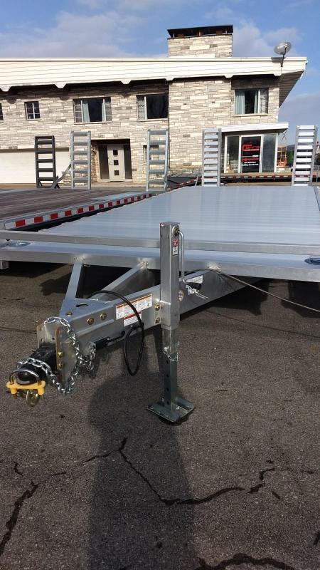 2019 Mission 8x24 14k Aluminum Equipment Trailer