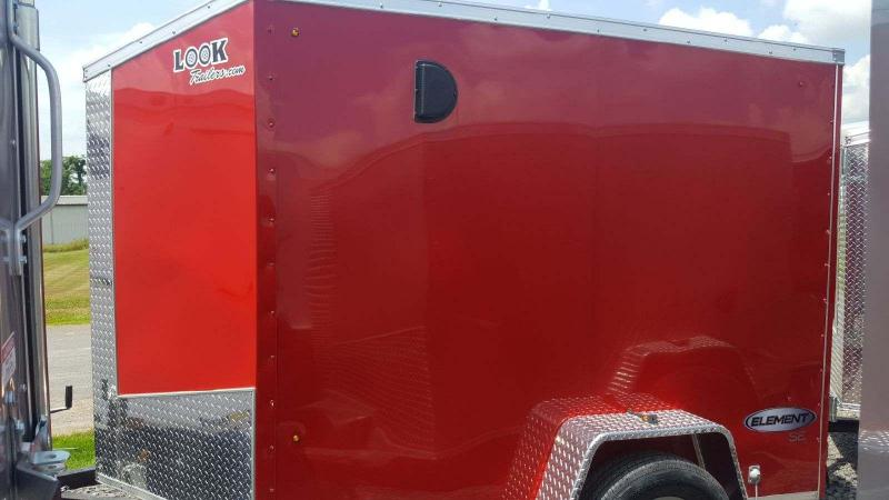 2018 Look Trailers 5x8 Element SE Enclosed Cargo Trailer in Ashburn, VA