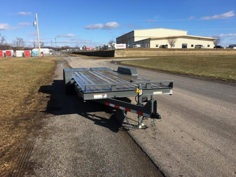 2018 Sure-Trac 7x20 Super Ramp Equipment Trailer