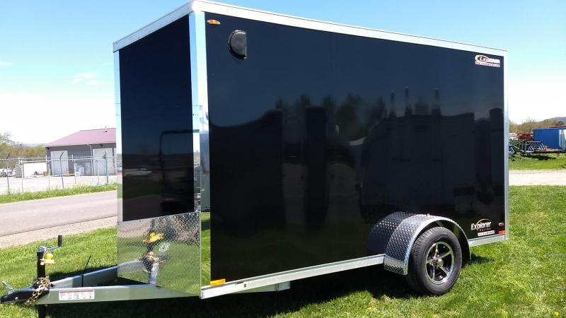 2019 Legend Manufacturing Explorer All Aluminum 6x13 Enclosed Cargo Trailer
