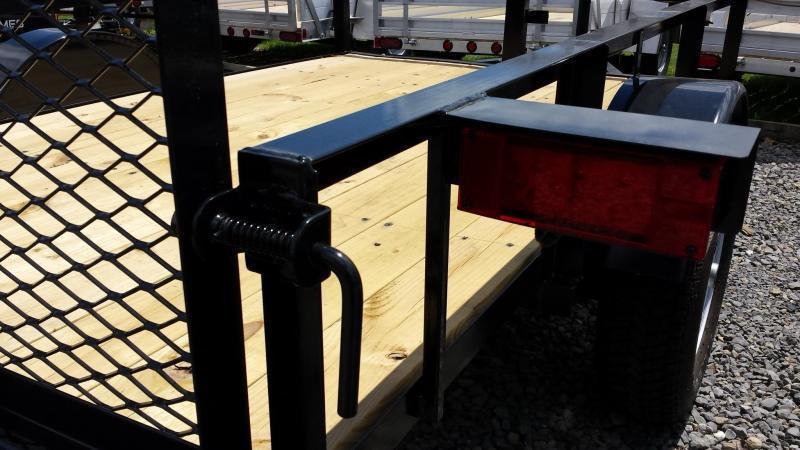 2019 Holmes 5x8 Open Side Rail Utility Trailer