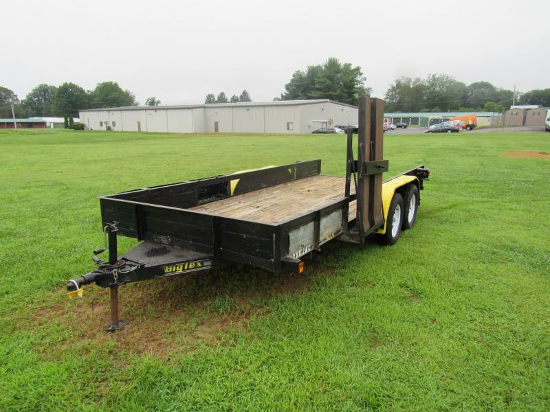 2008 Big Tex Trailers 6'4x16 Car / Racing Trailer