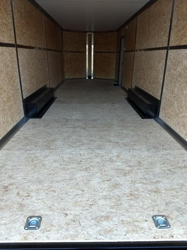 2019 Legend Manufacturing Cyclone Steel 8.5x28+V Enclosed Cargo Trailer