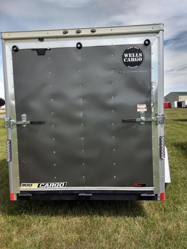 2018 Wells Cargo 300 Series 6x10 Enclosed Cargo Trailer