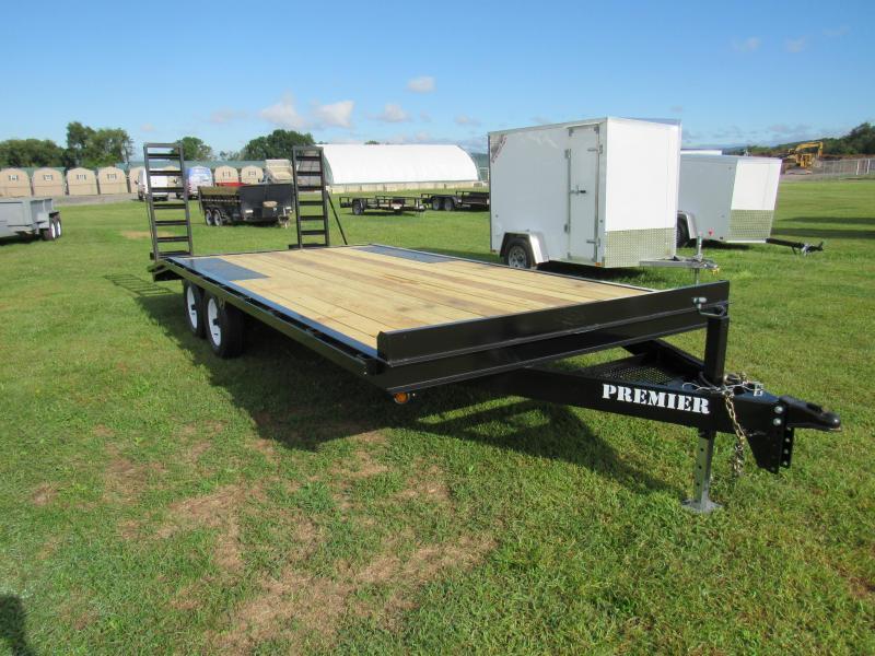 2019 Premier Trailers Inc. 20' (16+4) 10K Deck-Over Equipment Trailer