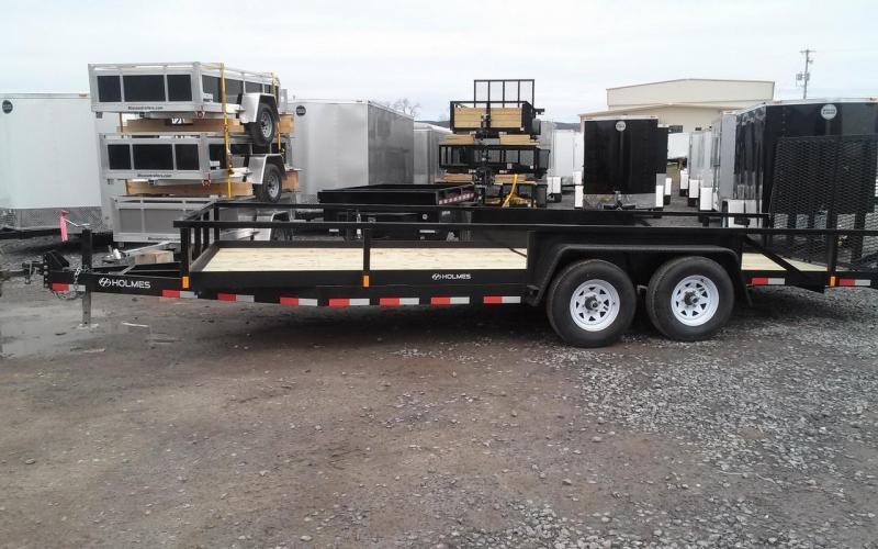 2018 Holmes commercial 6-10x20 landscape utility trailer