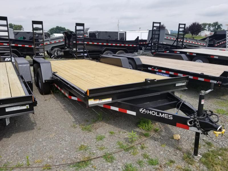 2018 Holmes 6-10x18 10K Equipment Hauler Equipment Trailer