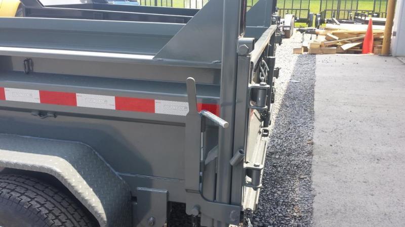 2018 Sure-Trac 6x10 Low Profile Dump Trailer