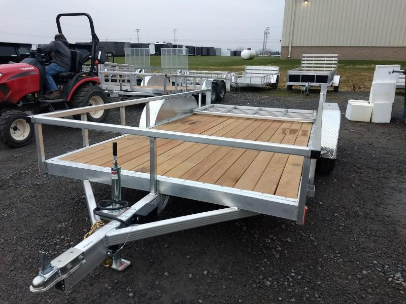 2019 Legend Manufacturing 7x14 Aluminum Utility Trailer in Ashburn, VA