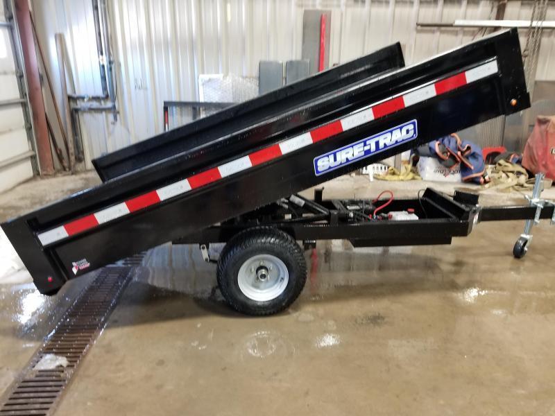 2019 Sure-Trac 4.5x8 Utility Dump Trailer