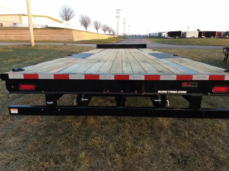 2019 Sure-Trac 8.5x24 15K Deck-Over Equipment Trailer