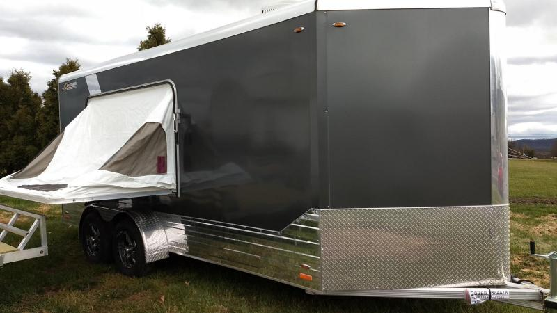 2019 Legend Manufacturing 7x19 all aluminum Enclosed Cargo/Camping Trailer
