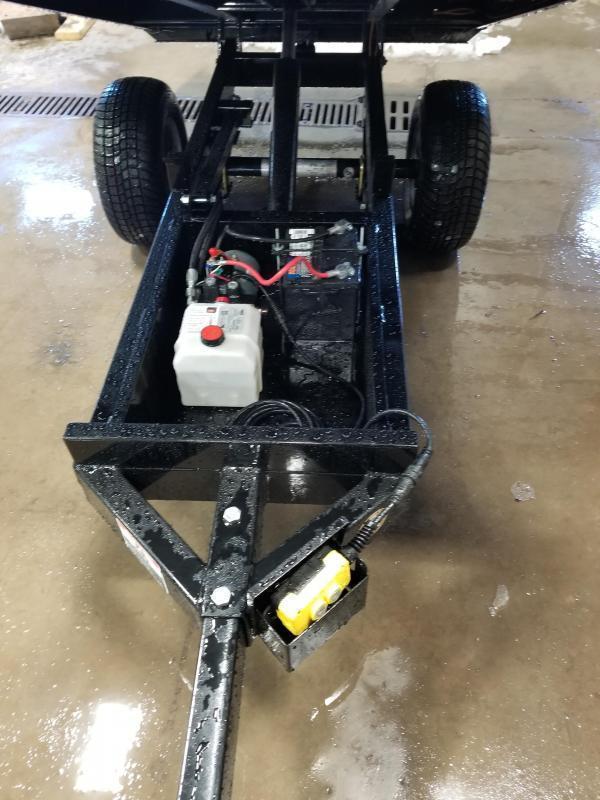 2018 Sure-Trac 4.5x8 Utility Dump Trailer
