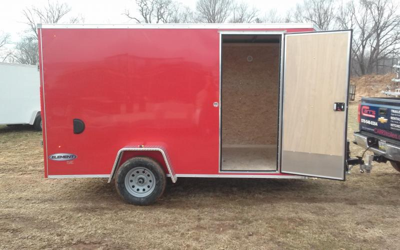 2018 Look Trailers 6x12 Element SE Enclosed Cargo Trailer