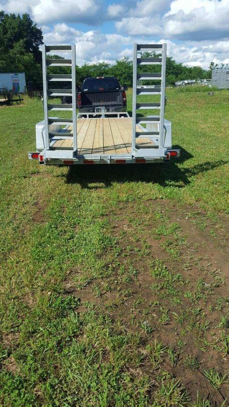 2018 Load Rite 6-10x20 10k galvanized Equipment Trailer