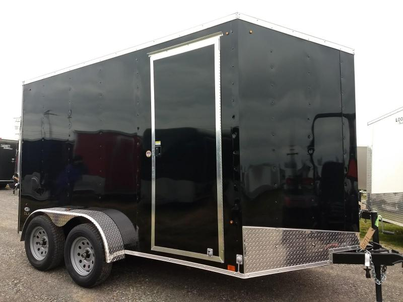 2019 Look Trailers 7x12 7K DLX-ST Enclosed Cargo Trailer