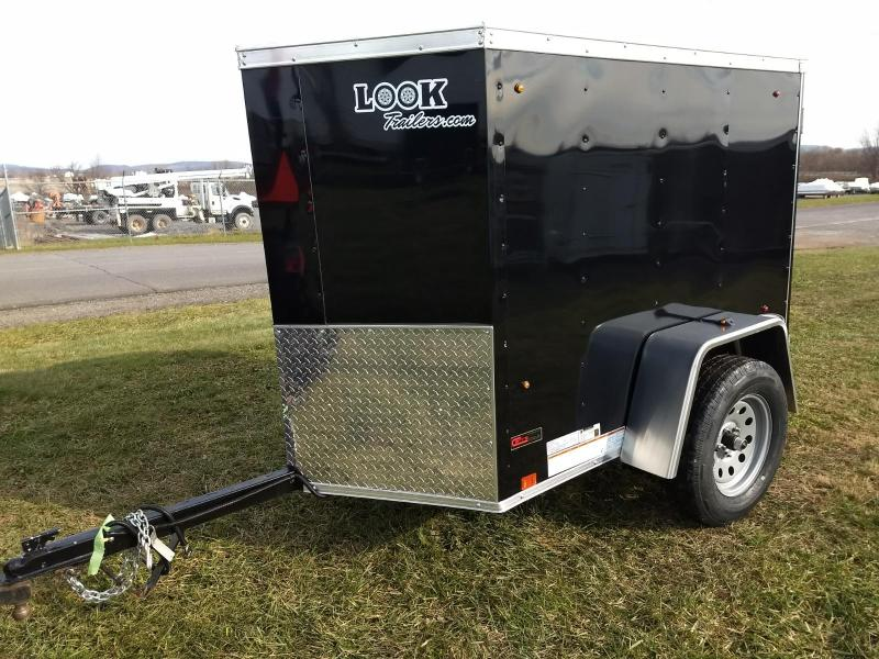 2019 Look Trailers Element 4x6 Enclosed Cargo Trailer