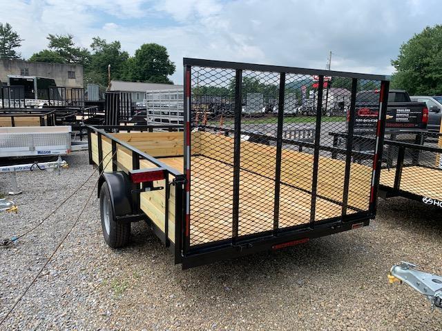 2019 Holmes 6-4x12 Wood Side Utility Trailer
