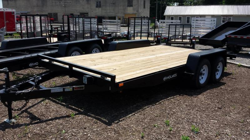 2019 Holmes 6-10x16 Wood Deck Car / Racing Trailer