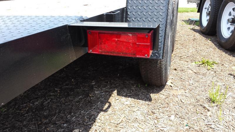 2019 Holmes 6-10x16 Wood Deck Car / Racing Trailer