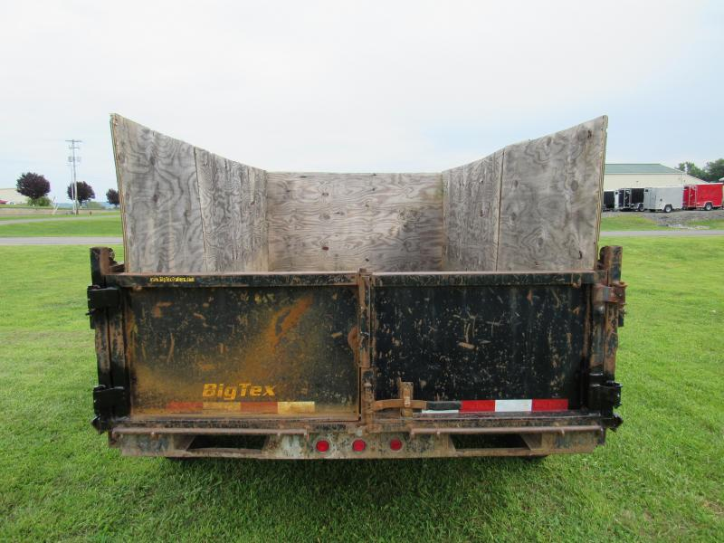 2008 Big Tex Trailers 6.5x12 10k Dump Trailer