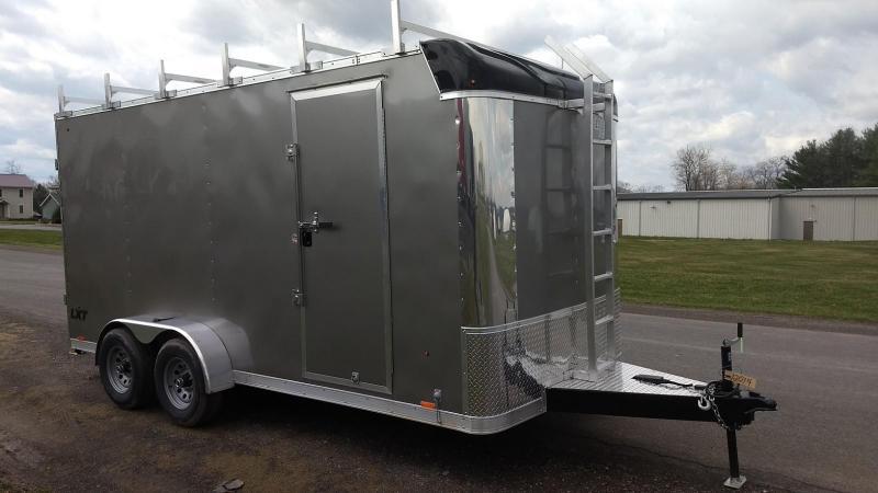 2019 Look Trailers 7x16 10K Contractor Enclosed Cargo Trailer