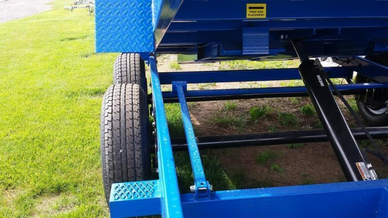 2019 Sure-Trac 6x12 low profile dump trailer -10k -ramps -combo gate