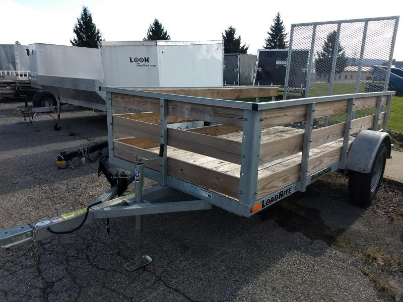 2015 Load Rite 5x10 galvanized high side Utility Trailer