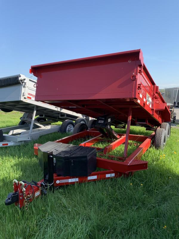 2019 Midsota 7X14 HV-14 Dump Trailer in Ashburn, VA