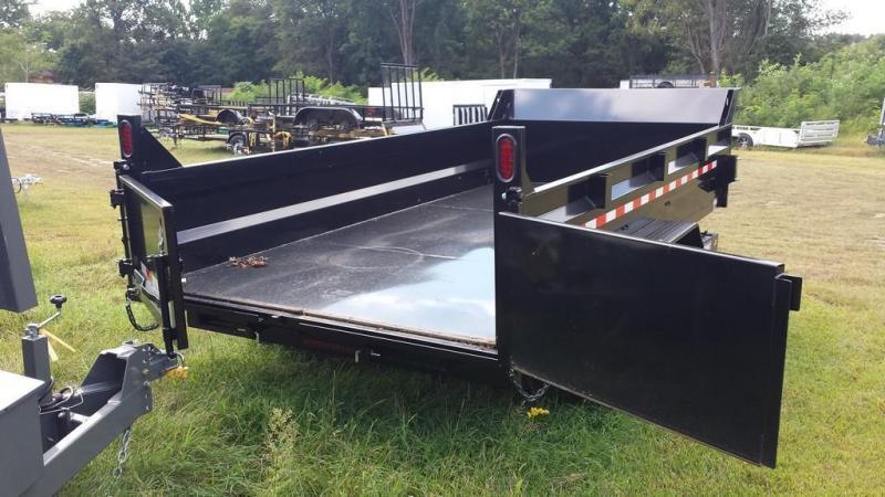 2019 Sure-Trac 7x16 14K low profile dump trailer