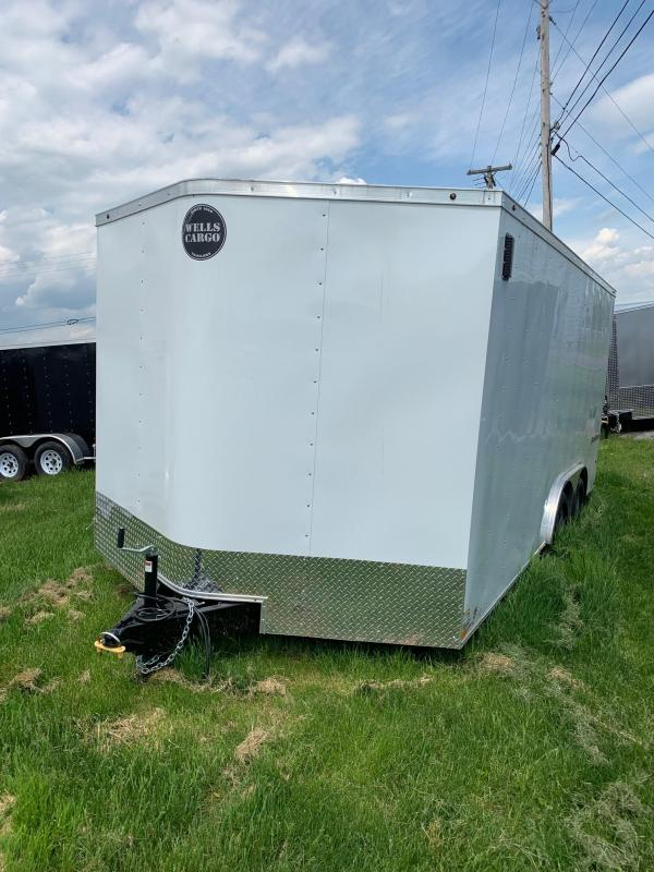 2019 Wells Cargo Fast Trac 8.5x16 7K Car Hauler in Ashburn, VA