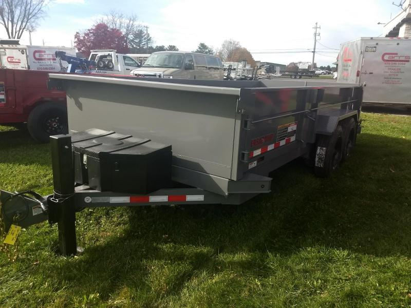 2019 Midsota 7X16 HV-16 17.6K Dump Trailer in Ashburn, VA