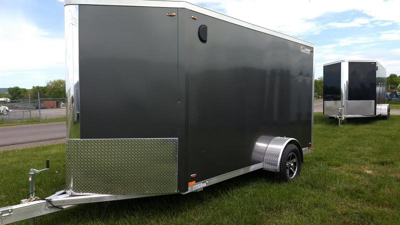 2019 Legend Manufacturing 6x15 all aluminum Enclosed Cargo Trailer