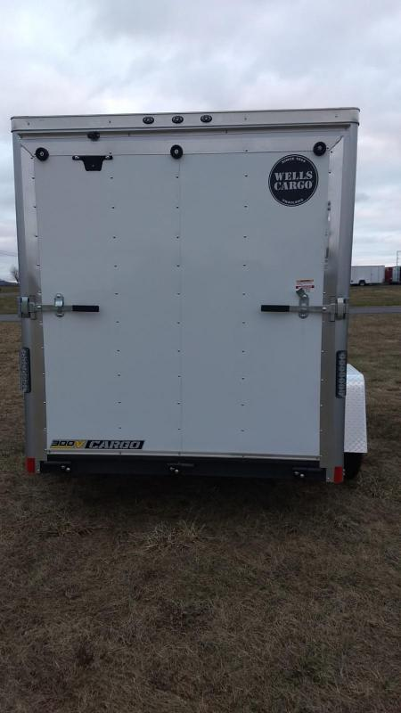 2019 Wells Cargo 300 Series 6x10 Enclosed Cargo Trailer