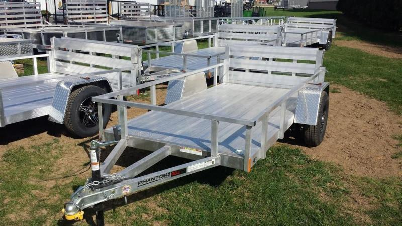 2019 Stealth Trailers 5x10 Alum Open Deck Rail Utility Trailer in Ashburn, VA
