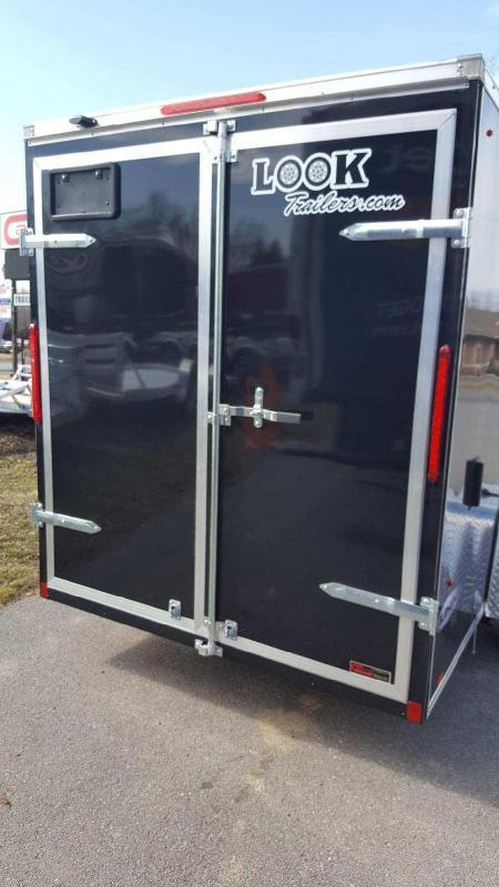 2019 Look Trailers 6x12 Element SE Enclosed Cargo Trailer
