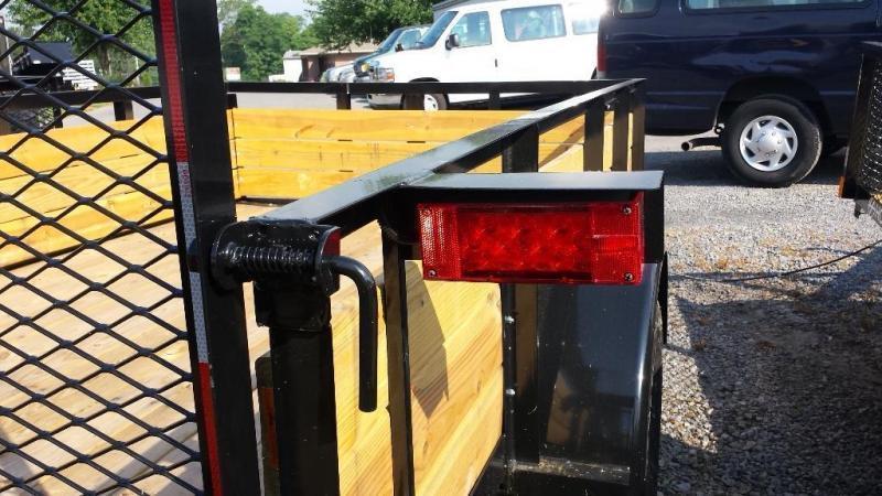 2019 Holmes 6-4x10 Wood Side Utility Trailer