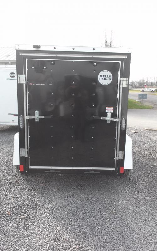 2018 Wells Cargo 5x8 Fast Trac Enclosed Cargo Trailer