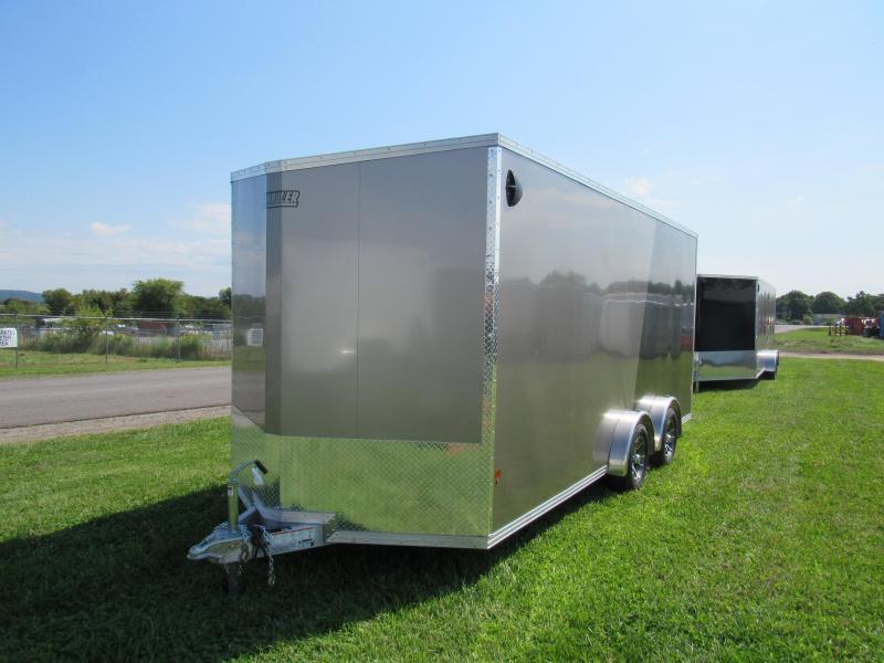 2020 Mission 7.5x18 UTV LIMITED MODEL Snowmobile Trailer