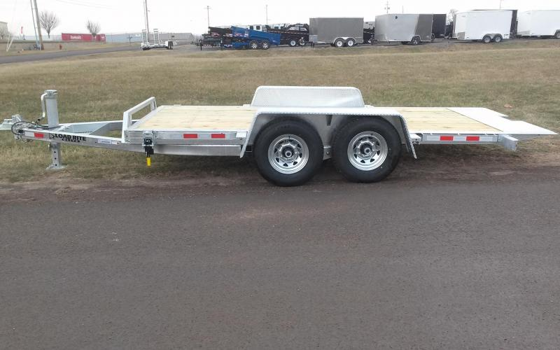 2018 Load Rite 16' 14K Tilt Deck Equipment Trailer in Greenville, NH