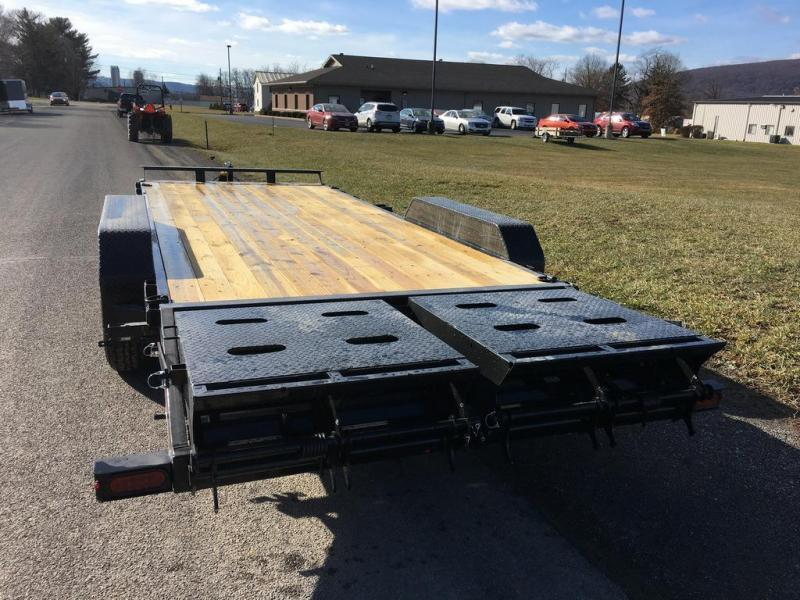 2018 Sure-Trac 7x20 Super Ramp Equipment Trailer