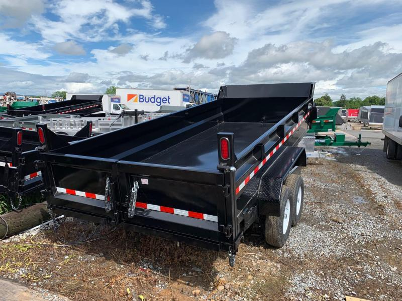 2019 Sure-Trac 7x16 14K low profile Scissor dump trailer